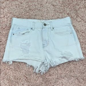 Bullhead High-Rise Jean Shorts